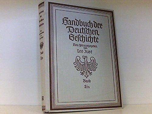 9783799707213: Restauration und Revolution: Von 1815 bis 1851 (Handbuch der deutschen Geschichte. Bd 3/1, Deutsche Geschichte im 19. Jahrhundert)
