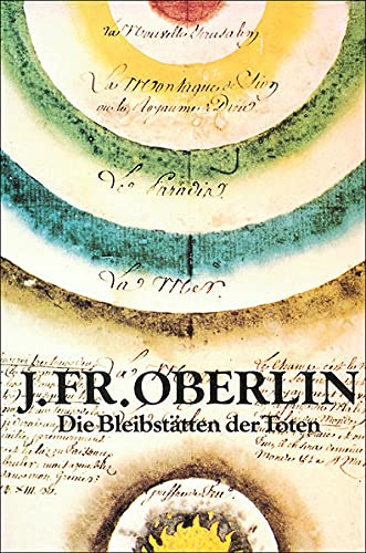 9783799901642: J. Friedrich Oberlin: Die Bleibst�tten der Toten