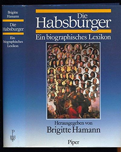 9783800032471: Die Habsburger: Ein biographisches Lexikon