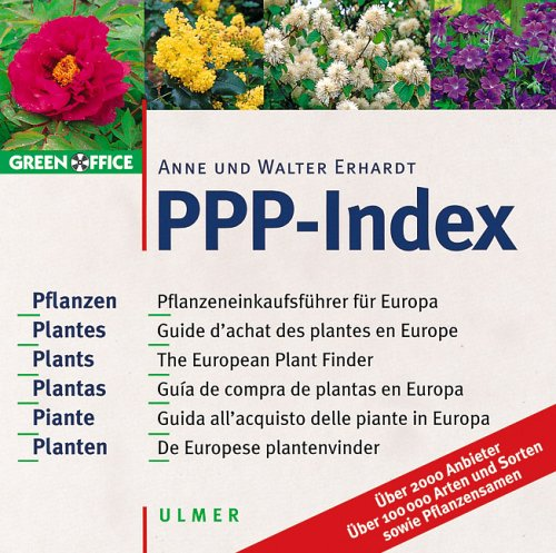 9783800131839: CD ROM ppp-index (guide d'achat des plantes en europe)