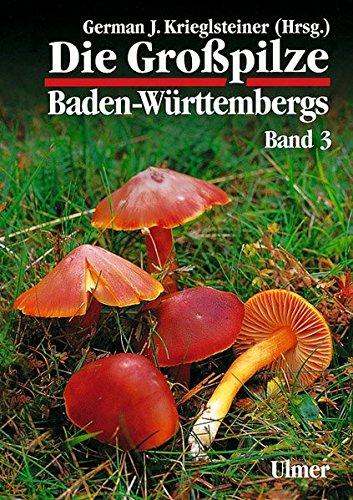 9783800135363: Die Großpilze Baden-Württembergs, Bd.3, Ständerpilze: Blätterpilze I