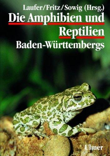 9783800143856: Die Amphibien und Reptilien Baden-Württembergs