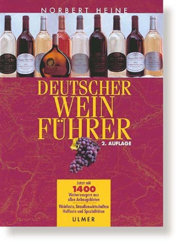 9783800148059: Deutscher Weinführer.