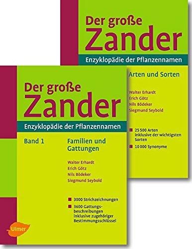 9783800154067: Der große Zander. Enzyklopädie der Pflanzennamen