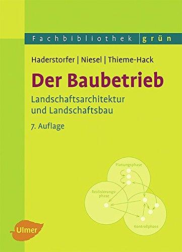 Der Baubetrieb: Rudolf Haderstorfer