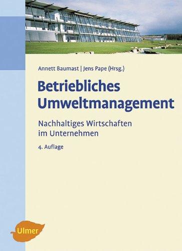 9783800159956: Betriebliches Umweltmanagement