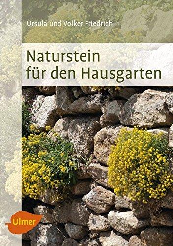 9783800183364: Naturstein für den Hausgarten