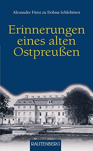 9783800331154: Erinnerungen eines alten Ostpreußen