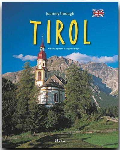 9783800341108: Journey through Tirol. Reise durch Tirol, englische Ausgabe