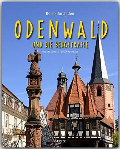 9783800341504: Reise durch den Odenwald und die Bergstraße