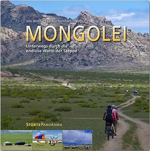 9783800348589: Mongolei - Unterwegs durch die endlose Weite der Steppe