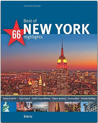 9783800349005: Best of New York - 66 Highlights: Ein Bildband mit über 180 Bildern