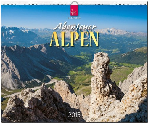 9783800352807: Abenteuer Alpen 2015