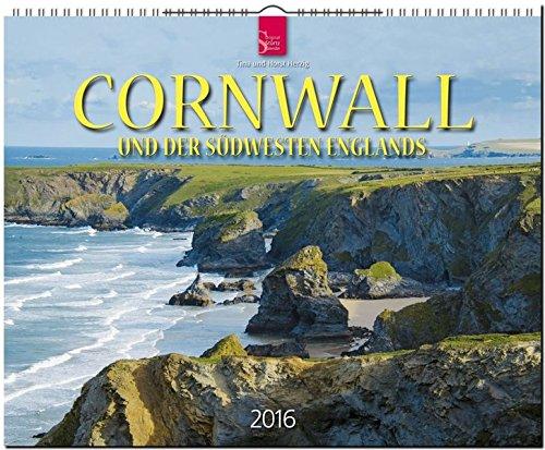 9783800353576: Cornwall 2016: Und der Südwesten Englands. Großformat-Kalender