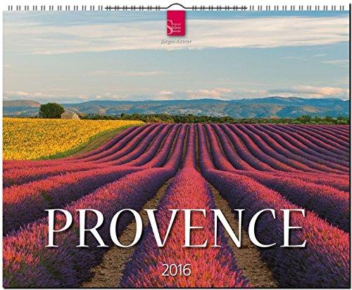 9783800353859: Provence 2016: Original Stürtz-Kalender - Großformat-Kalender 60 x 48 cm [Spiralbindung]