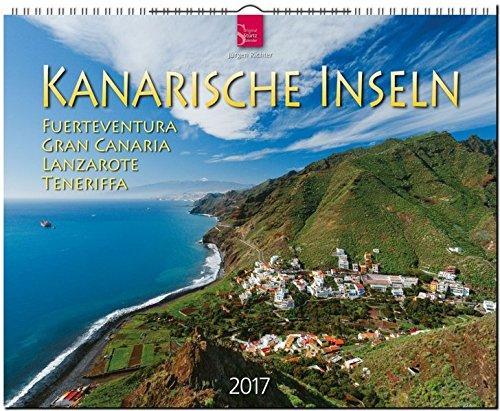 9783800355228: KANARISCHE INSELN - Teneriffa - Fuerteventura - Gran Canaria - Lanzarote - Original Stürtz-Kalender 2017 - Großformat-Kalender 60 x 48 cm