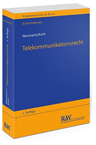 9783800514922: Einf�hrung in das Telekommunikationsrecht
