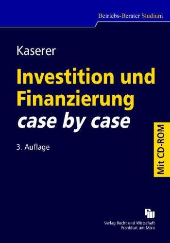 9783800550159: Investition und Finanzierung case by case