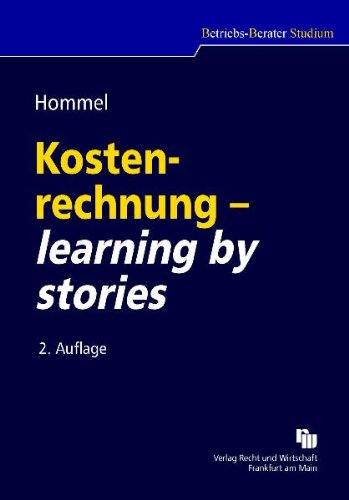 9783800550180: Kostenrechnung - learning by stories