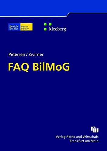 9783800550296: FAQ BilMoG