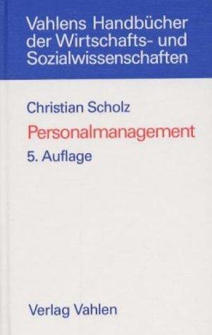 9783800621828: Personalmanagement: Informationsorientierte und verhaltenstheoretische Grundlagen