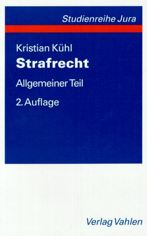 9783800622085: Strafrecht. Allgemeiner Teil