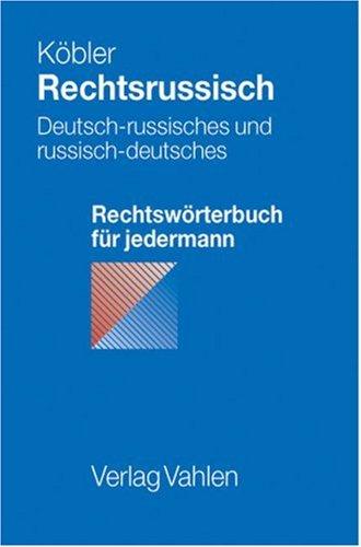 9783800626861: Rechtsrussisch.