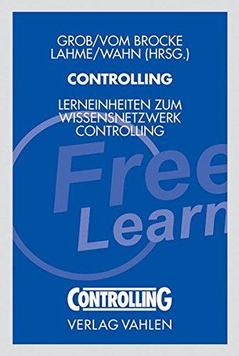 Controlling Lerneinheiten zum Wissensnetzwerk Controlling.: Lothar, Heinz: