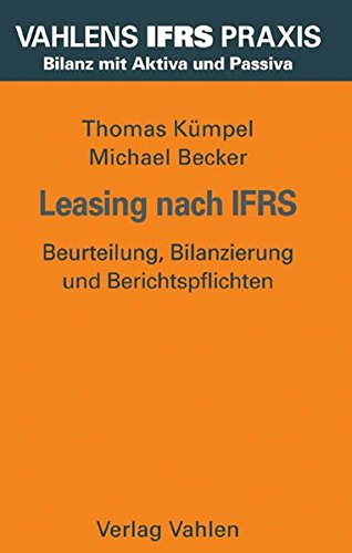 9783800631087: Leasing nach IFRS