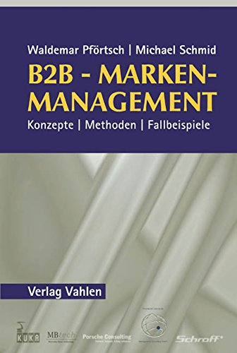 9783800631445: B2B-Markenmanagement