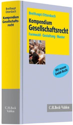 Kompendium Gesellschaftsrecht: Joachim Breithaupt