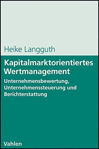 Kapitalmarktorientiertes Wertmanagement: Heike Langguth