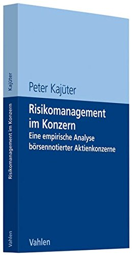 9783800634408: Risikomanagement im Konzern