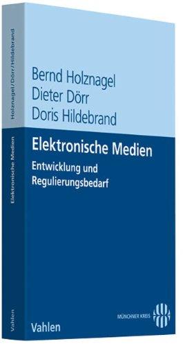 Elektronische Medien: Bernd Holznagel