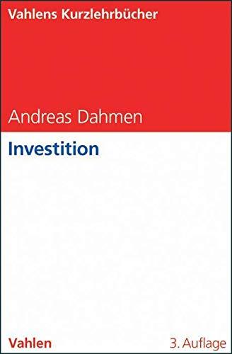 Investition: Dahmen, Andreas