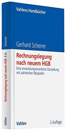 Rechnungslegung nach neuem HGB: Gerhard Scherrer