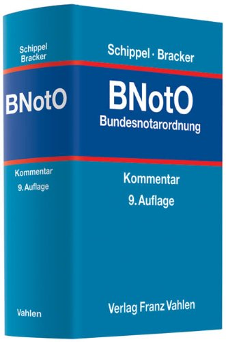 Bundesnotarordnung: Ulrich Bracker