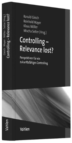 Controlling - Relevance lost?: Ronald Gleich