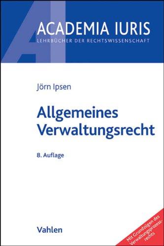 9783800639786: Allgemeines Verwaltungsrecht