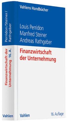 9783800639915: Finanzwirtschaft der Unternehmung