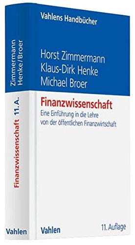 9783800645473: Finanzwissenschaft