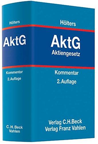 Aktiengesetz: Wolfgang Hölters