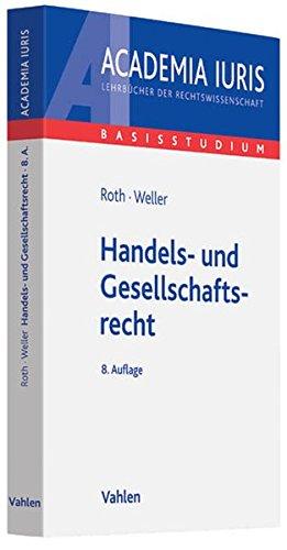 9783800646821: Handels- und Gesellschaftsrecht