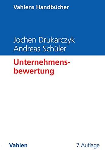 Unternehmensbewertung: Jochen Drukarczyk