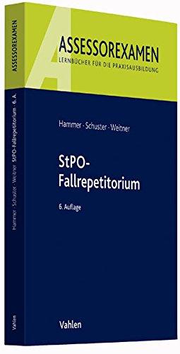 9783800648979: StPO-Fallrepetitorium
