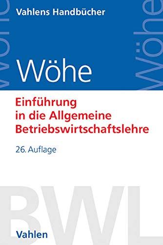 9783800650002 - Einführung in die Allgemeine Betriebswirtschaftslehre - Buch