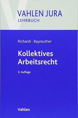 9783800650392: Kollektives Arbeitsrecht