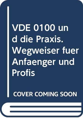 9783800721405: VDE 0100 und die Praxis. Wegweiser für Anfänger und Profis