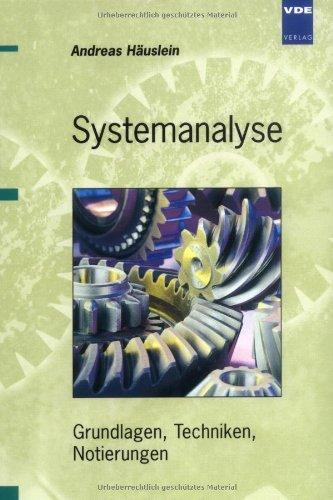 9783800727155: Systemanalyse