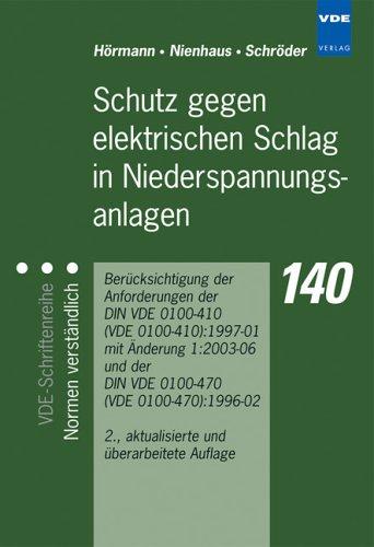 9783800729043: Schnelleinstieg in die neue DIN VDE 0100-410
